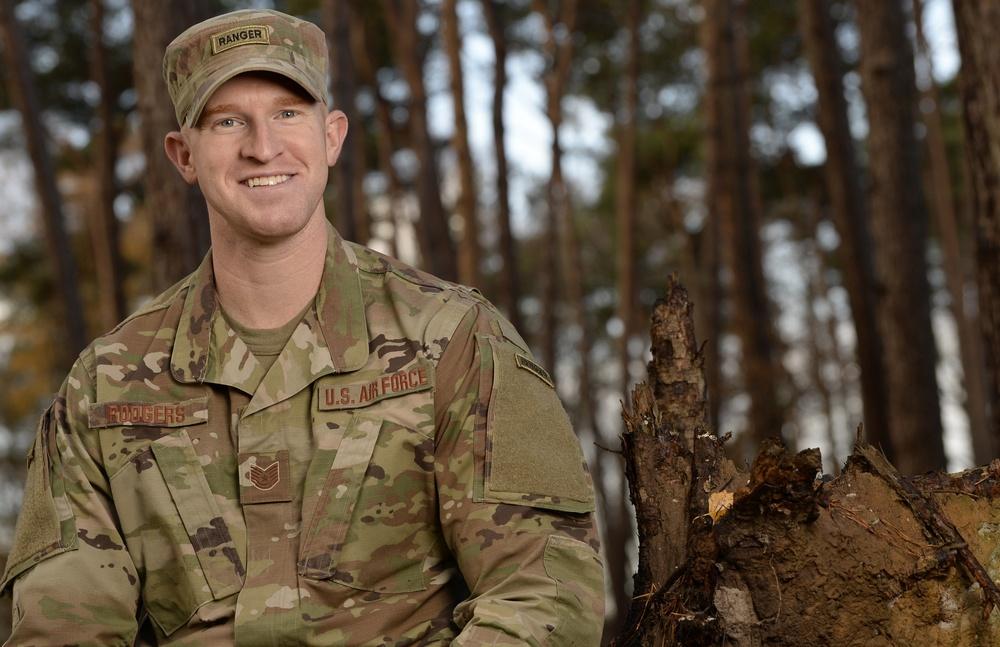Pushing his limits: SFS Airman earns Ranger tab