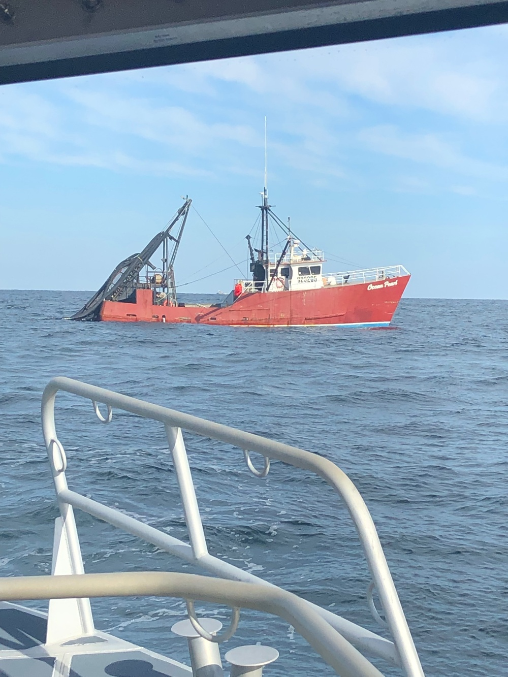 Coast Guard rescues 4 after boat catches fire near Cape May, NJ