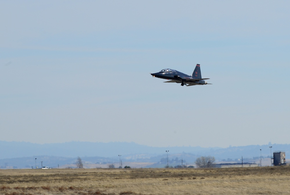 T-38 Talons over Beale