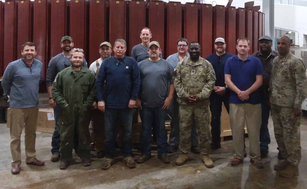 Hartwell Power Plant Maintenance Team Receives Praise for Exceeding Expectations