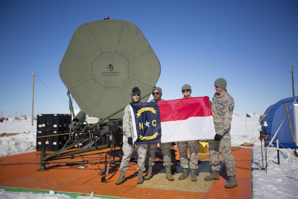 263rd Combat Comm at Operation Deep Freeze