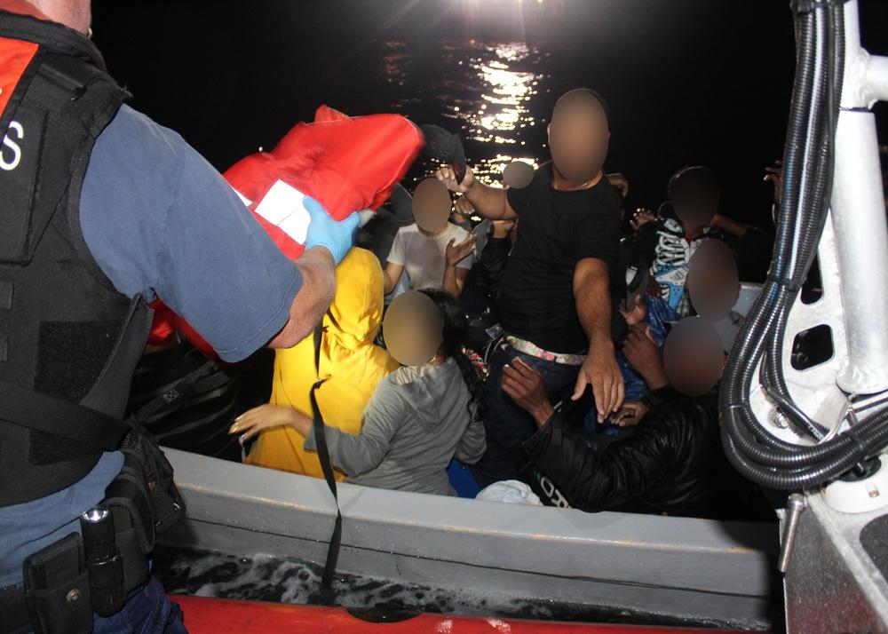 Coast Guard, partner agencies interdict 66 migrants in last 72-hours