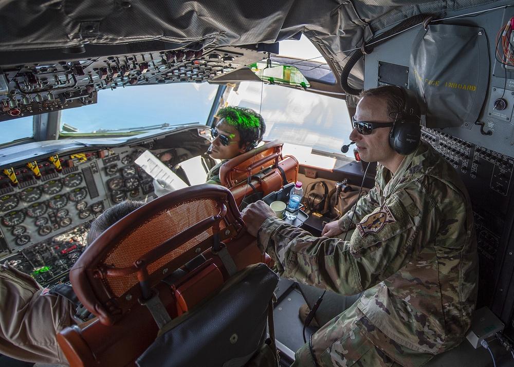CJTF-HOA join JMSDF for P-3C Orion familiarization flight