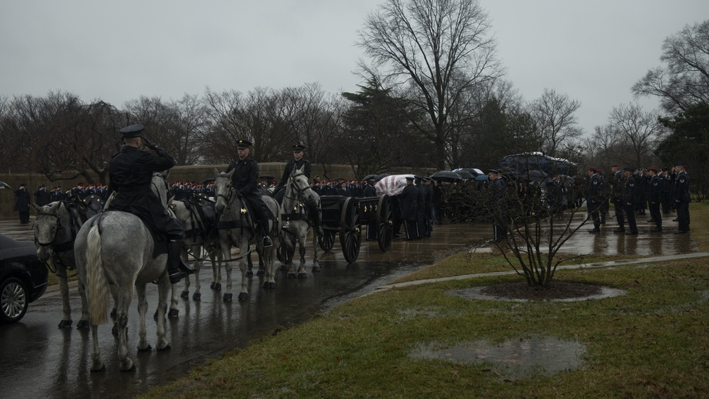 'Til Valhalla': Special Tactics combat controller laid to rest at Arlington National Cemetery