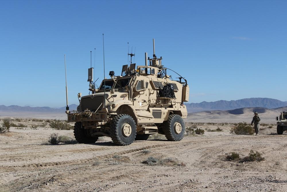 Electronic Warfare Tactical Vehicle at NTC