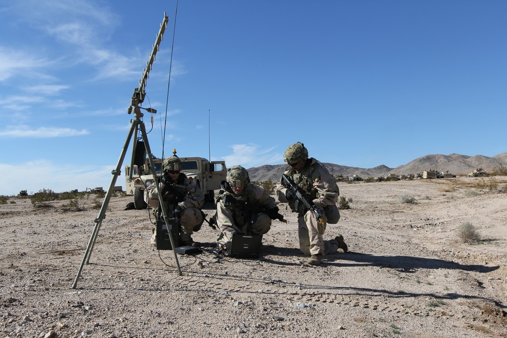 ECSD Soldiers support 3-1 CAV at NTC