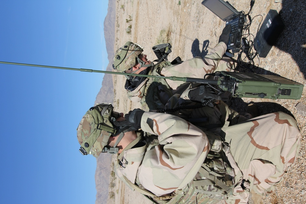 Cyber Soldiers support CAV at NTC