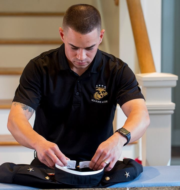For Marine Corps Chef, Cooking is The Spice of Life