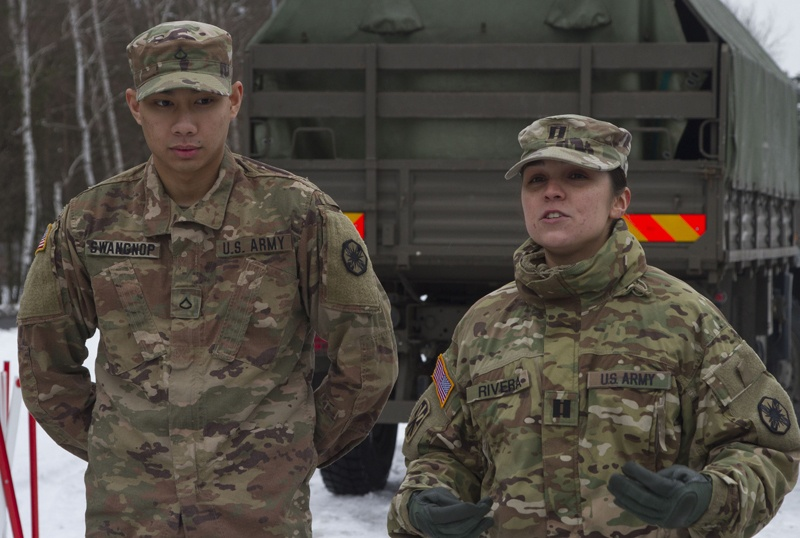Joint nations participate in promotion ceremony