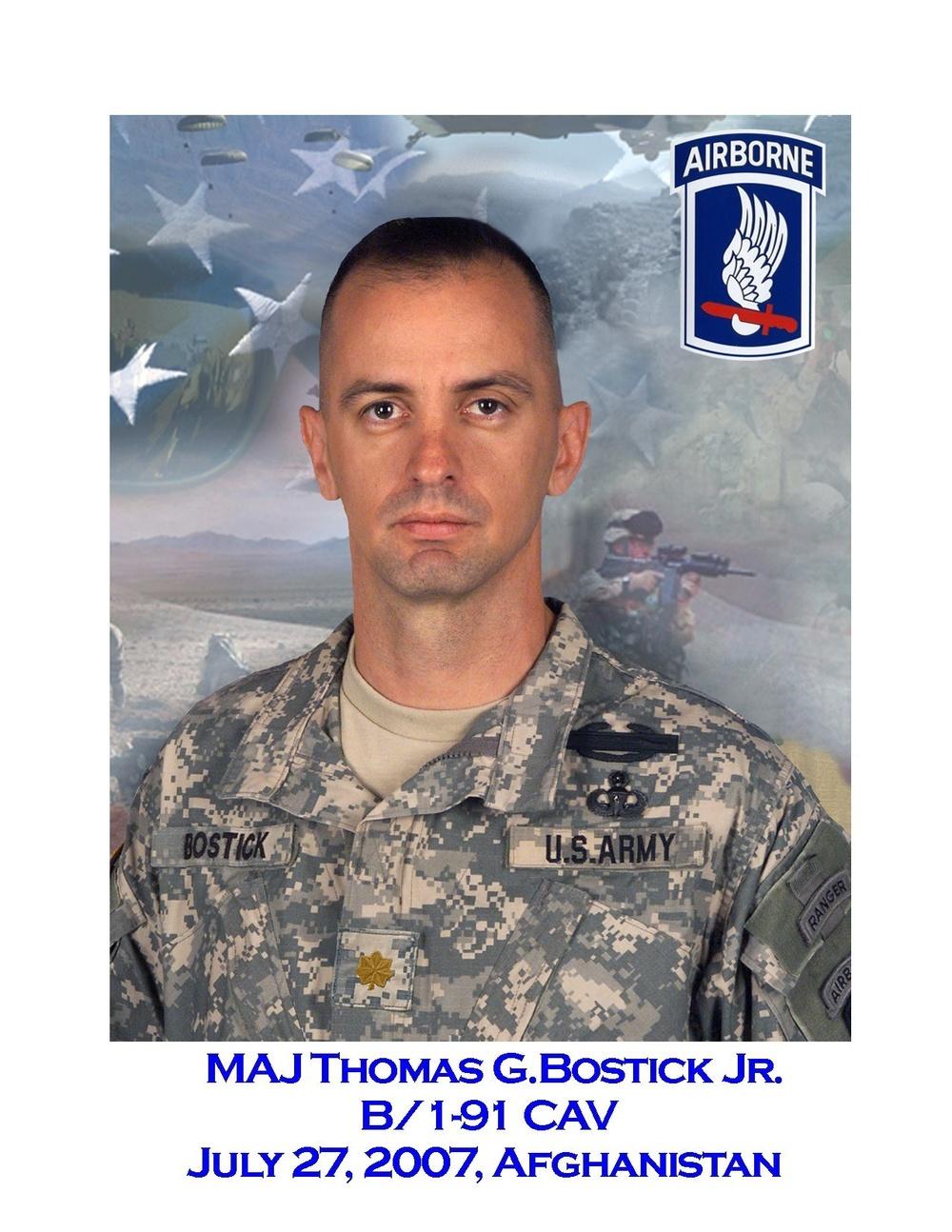 Maj. Thomas Bostick