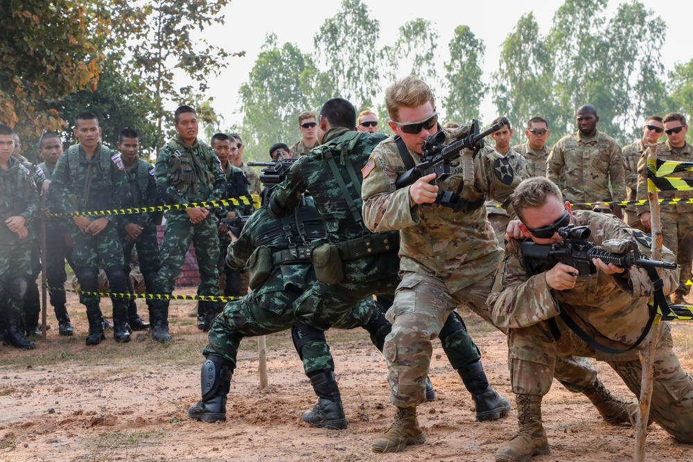 COBRA GOLD 19: Combined MOUT Training in Thailand