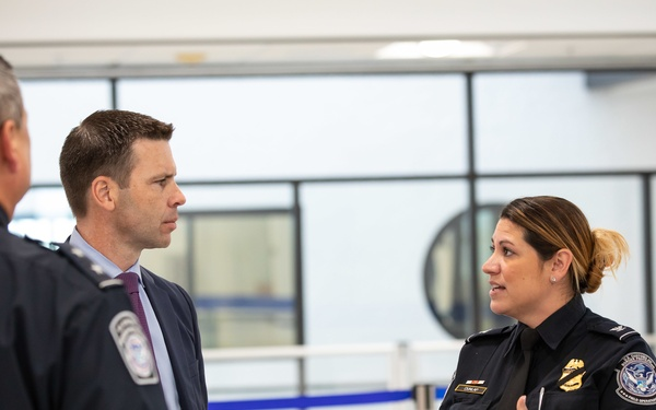 CBP Commissioner McAleenan visits CBP Miami
