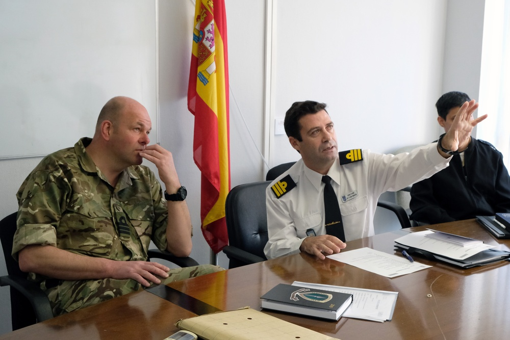 Meeting the Spanish Armada