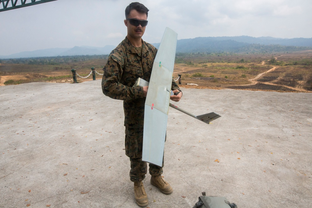 Cobra Gold19:Marines conduct drone training in Thailand during Cobra Gold 19.1