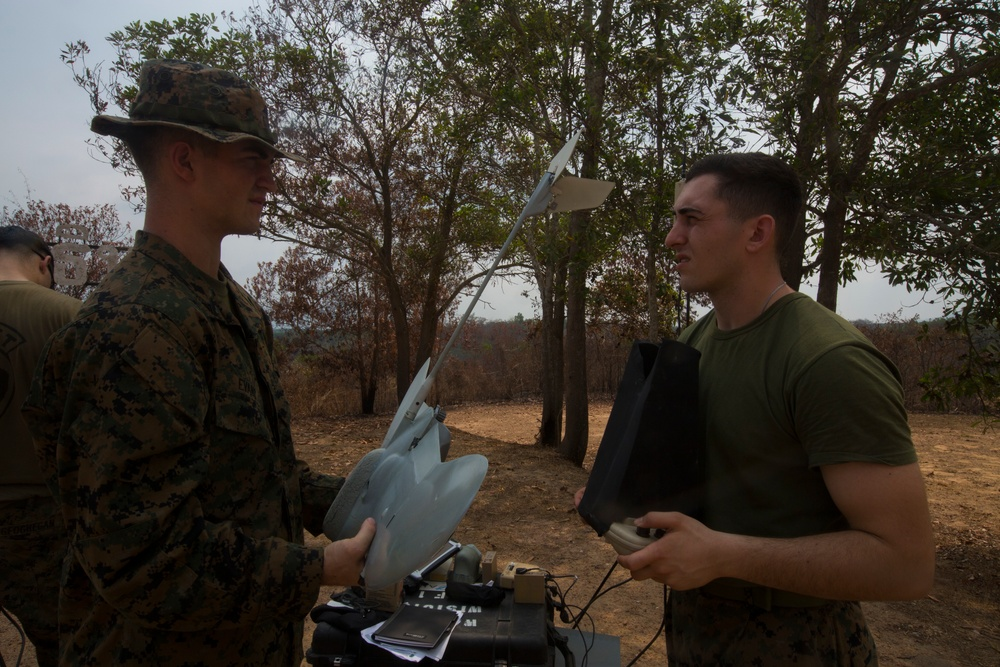 Cobra Gold19: Marines conduct drone training in Thailand during Cobra Gold 19.1