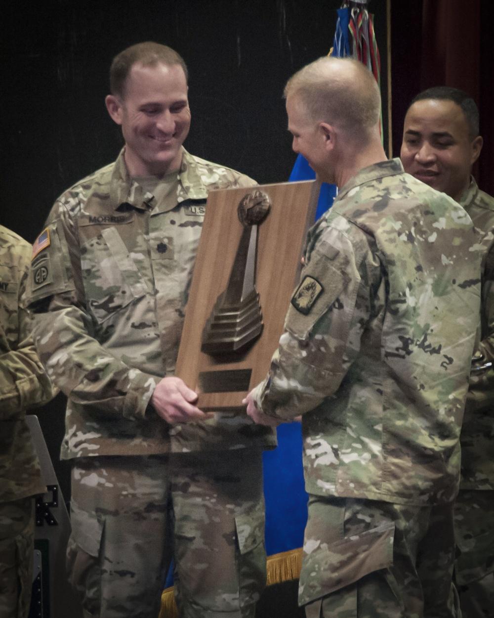 1-3rd Attack Reconnaissance Battalion, receives Lt. Gen. Ellis D. Parker Award in the Combat category