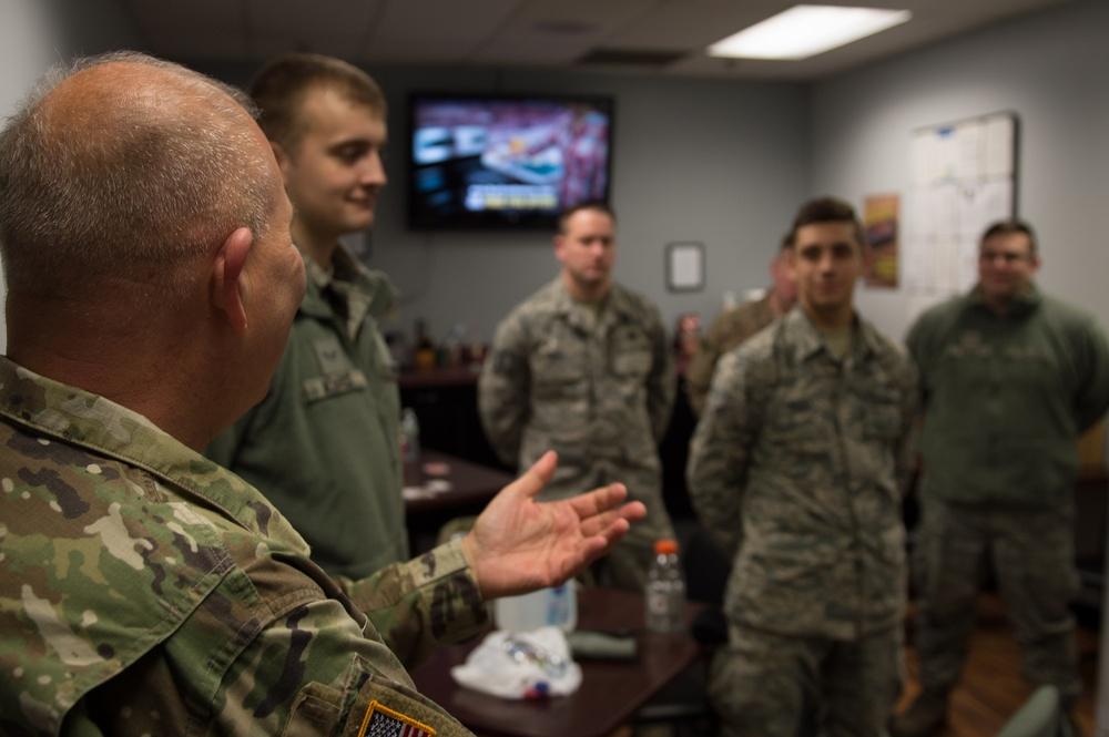 The Adjutant General visits Western New York Guardsmen