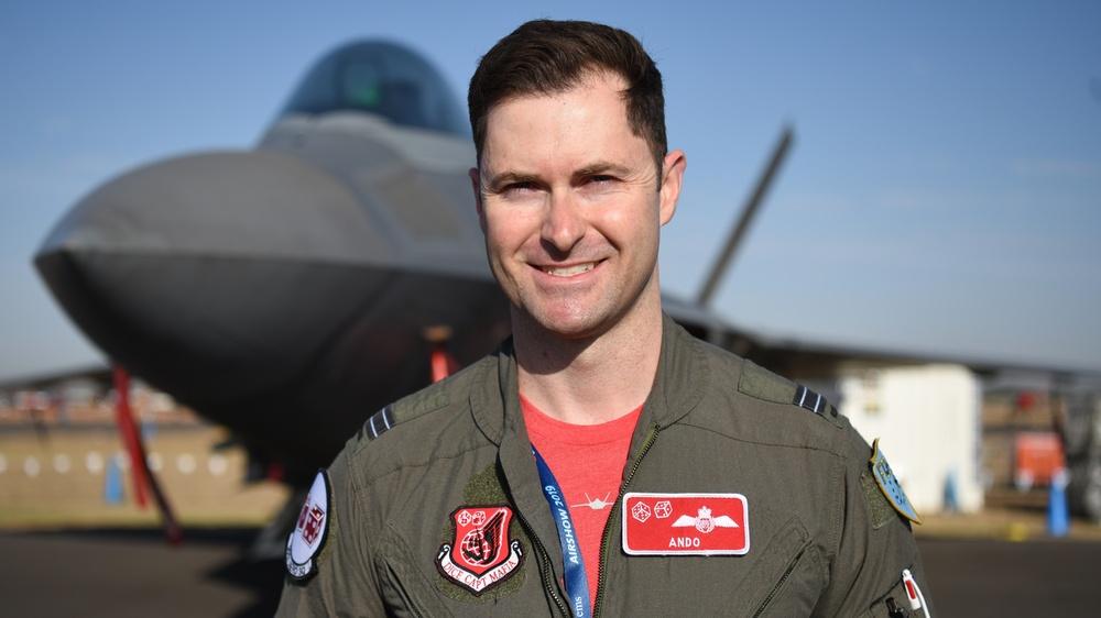 Trading wings: from Australian F/A-18 Hornet to U.S. F-22 Raptor