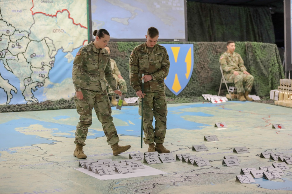 U.S. Army Europe Sustainment Rehearsal of Concept Drill