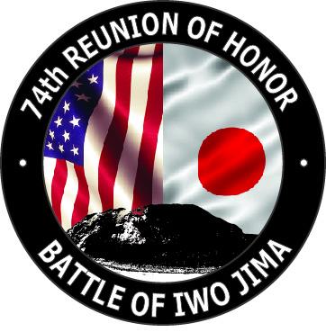 74th Battle of Iwo Jima Reunion of Honor Graphic