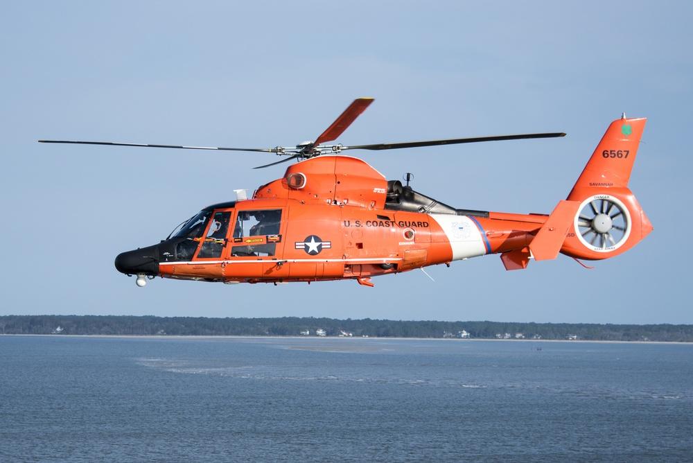 Coast Guard Air Station Savannah welcomes Cutter Eagle to Savannah