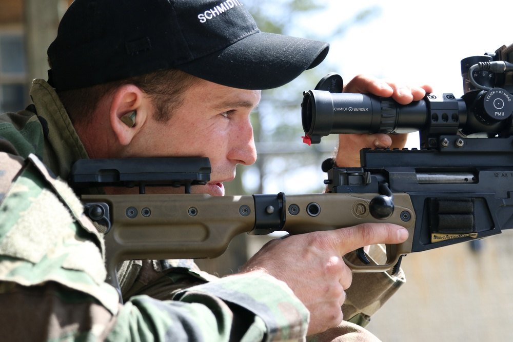 2019 United States Army Special Operations Command Sniper Competition