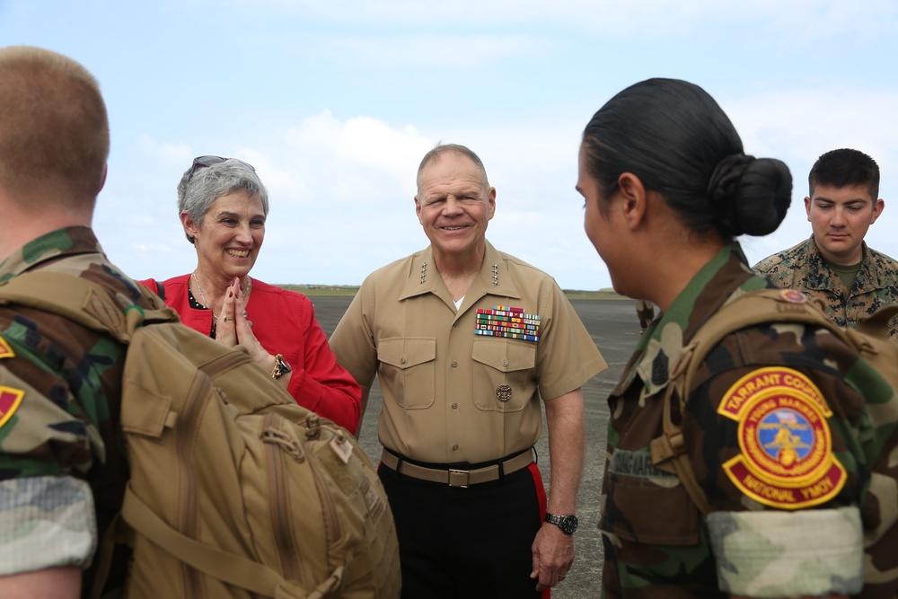 CMC Attends 74th Anniversary of Iwo Jima