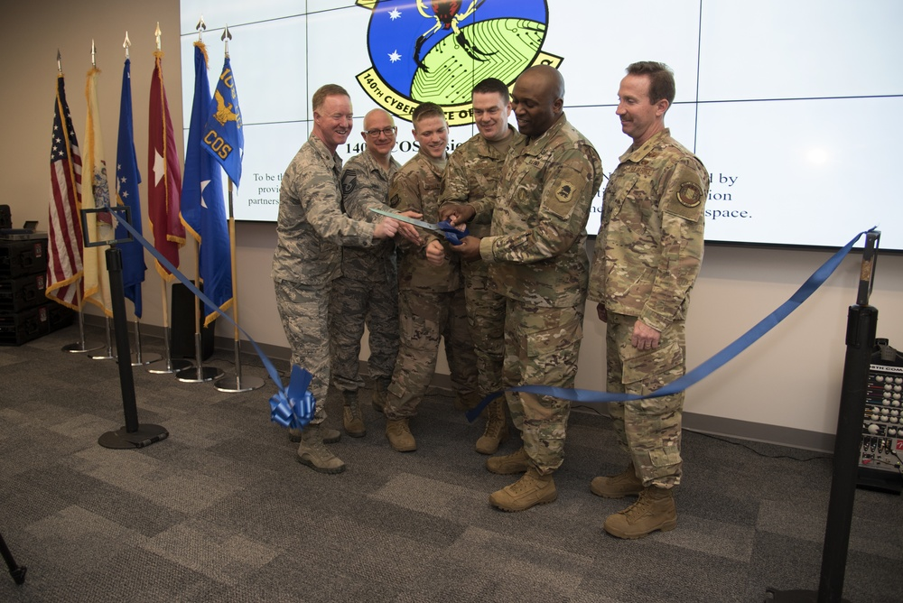 140th Cyberspace Operations Squadron unveils new facility