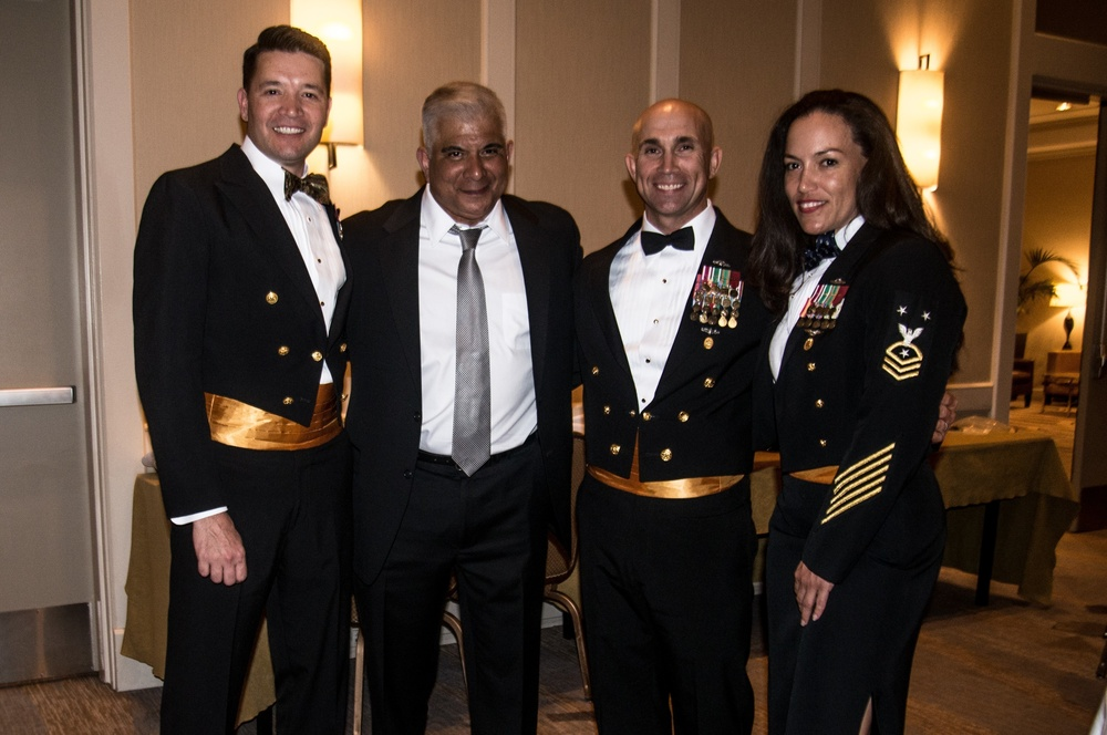 Coastal Riverine Force Chiefs Celebrate 126th CPO Birthday during a Dining In with 11th MCPON Joe Campa Jr.