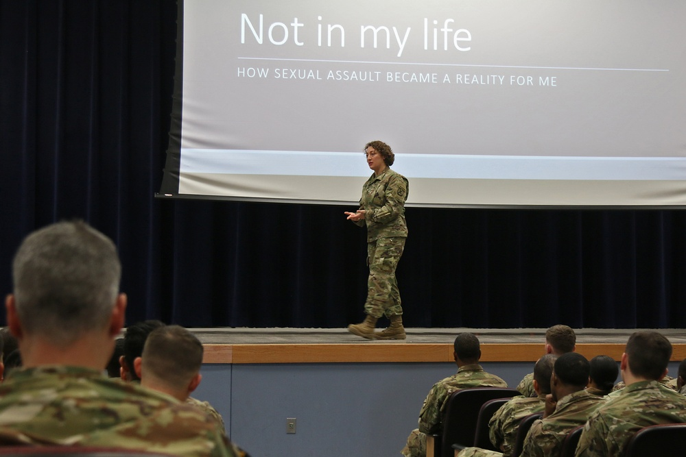 Mountain leader's personal trauma conveys tangible threat of sexual violence