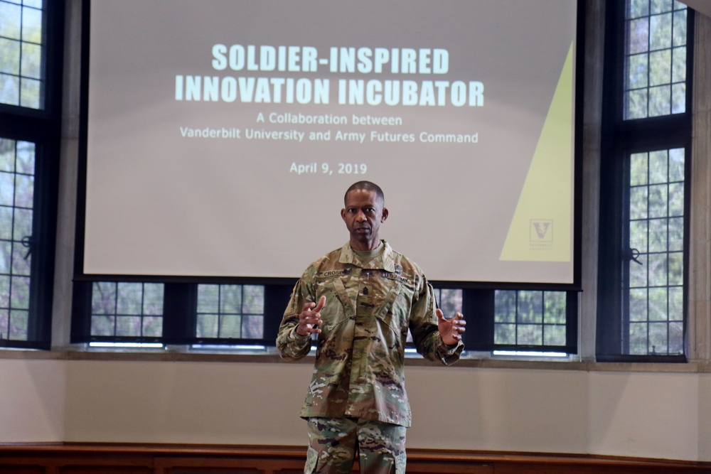 Innovation is the Future: Rakkasans, Army Futures Command sign partnership with Vanderbilt