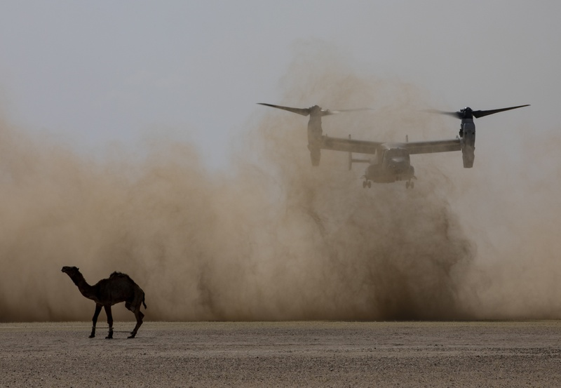 Marine aviation squadron sets record for hours flown