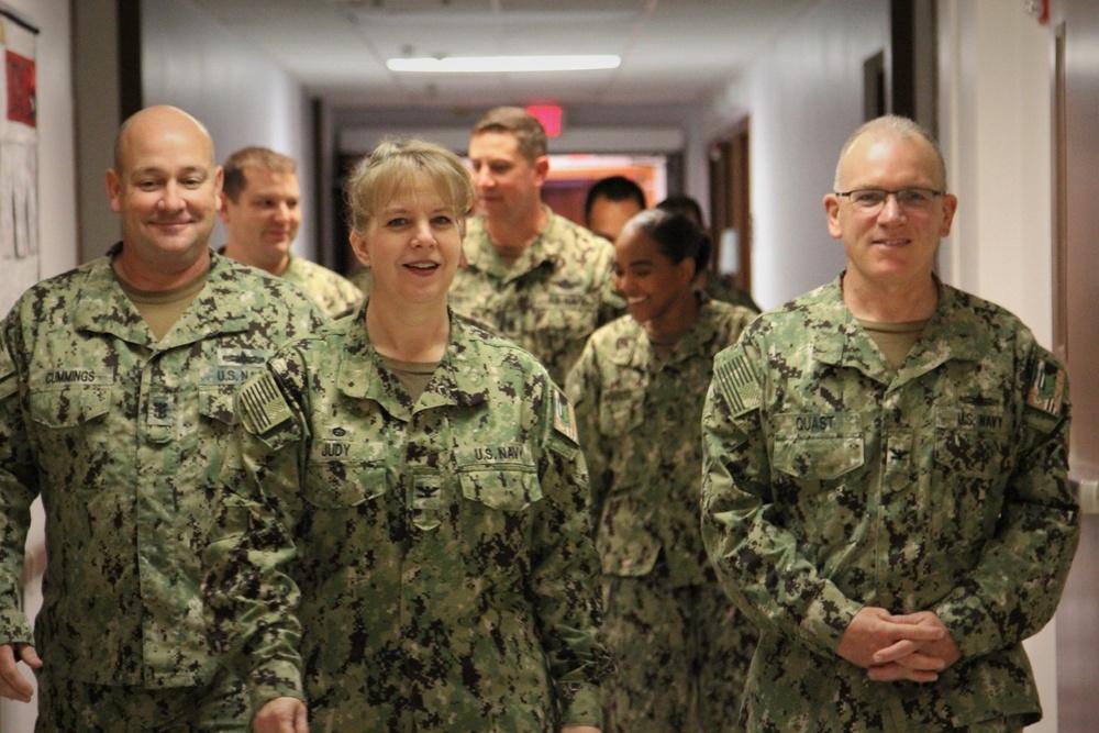 Naval Hospital Rota Triad meritoriously promotes six corpsmen through Meritorious Advancement Program