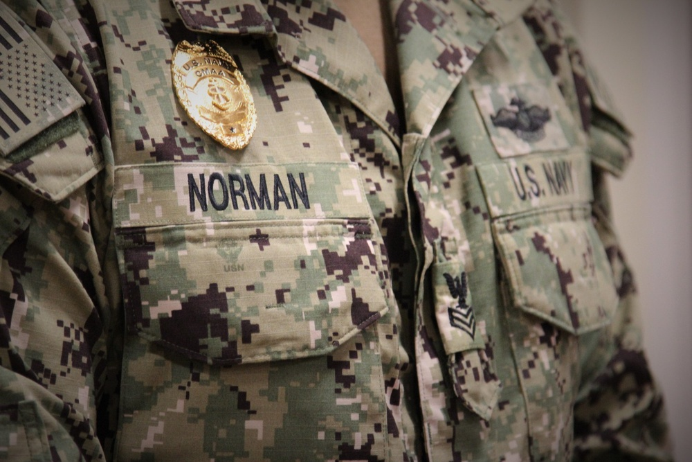 HM1 Kasey Norman Promoted Via Meritorious Advancement Progam