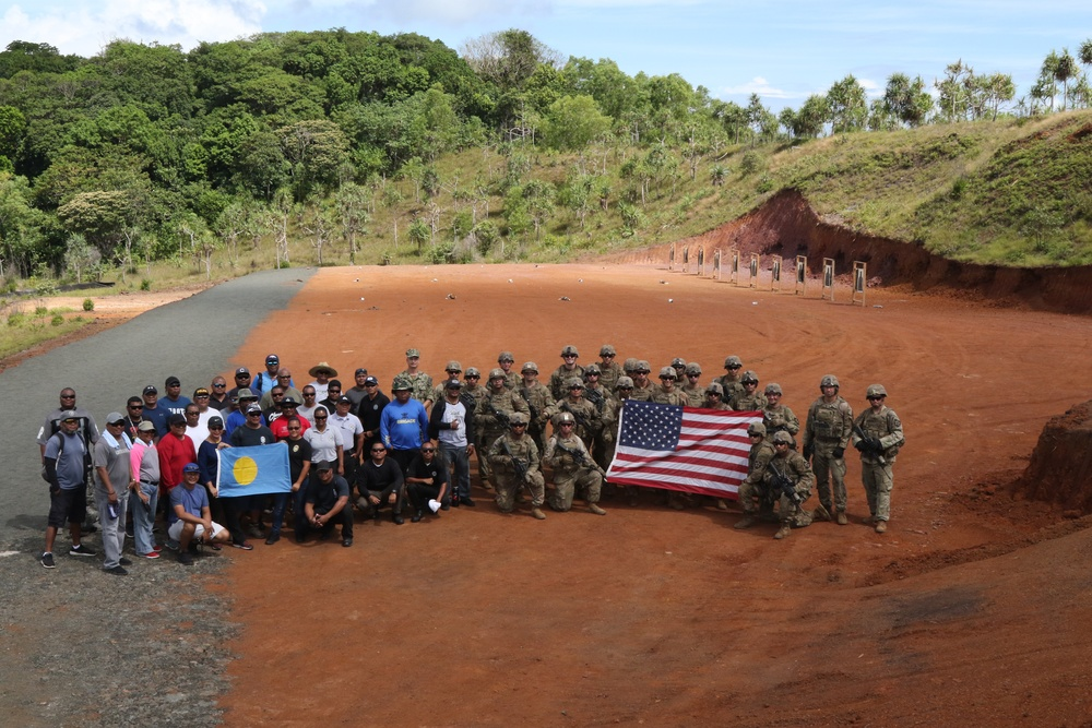 5-20 Inf. Reg. Builds Partnership and Trains in Palau