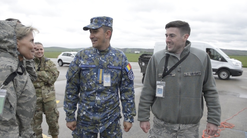 Mission support Airmen rely on cross-cultural relationships to enable Theater Security Package in Romania