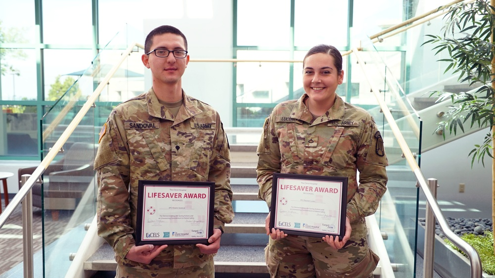 Soldiers Save Lives in Cincinnati thanks to the SMART program