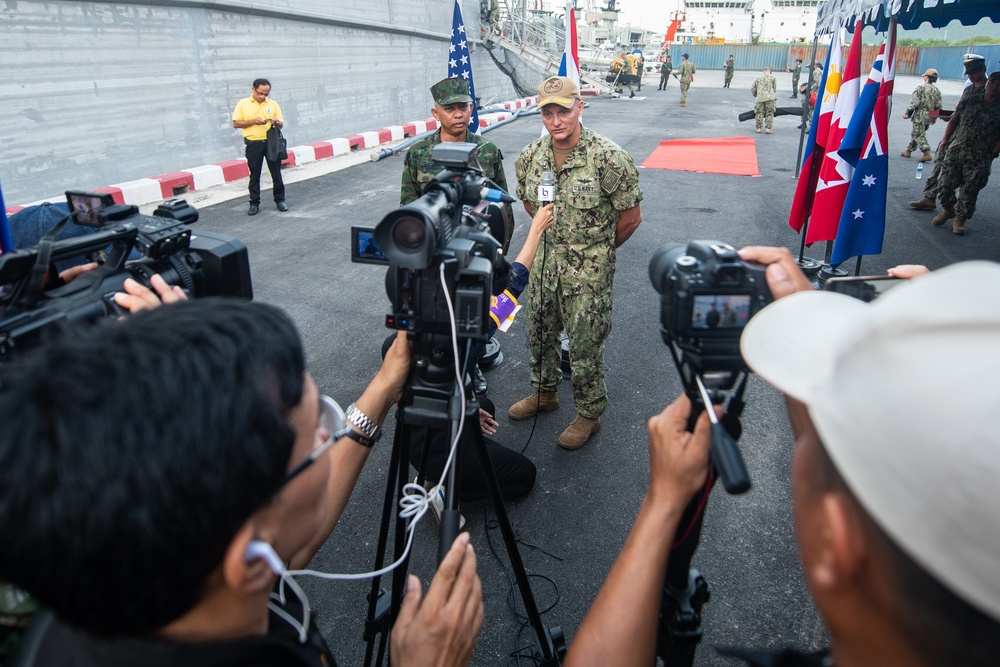 Pacific Partnership 2019 Mission Concludes in Thailand