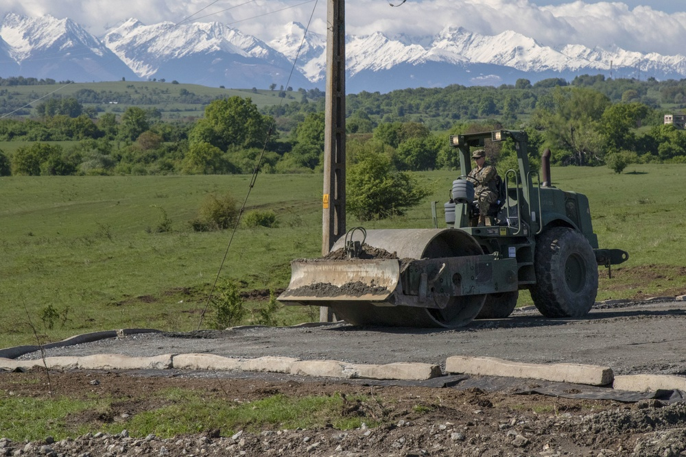 Alaska Army National Guard engineers train with Romanian counterparts