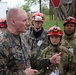 Senior Military Leader Visits Muscatatuck Urban Training Center