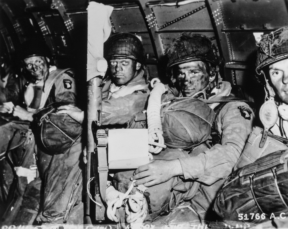 D-Day, Normandy, paratroopers