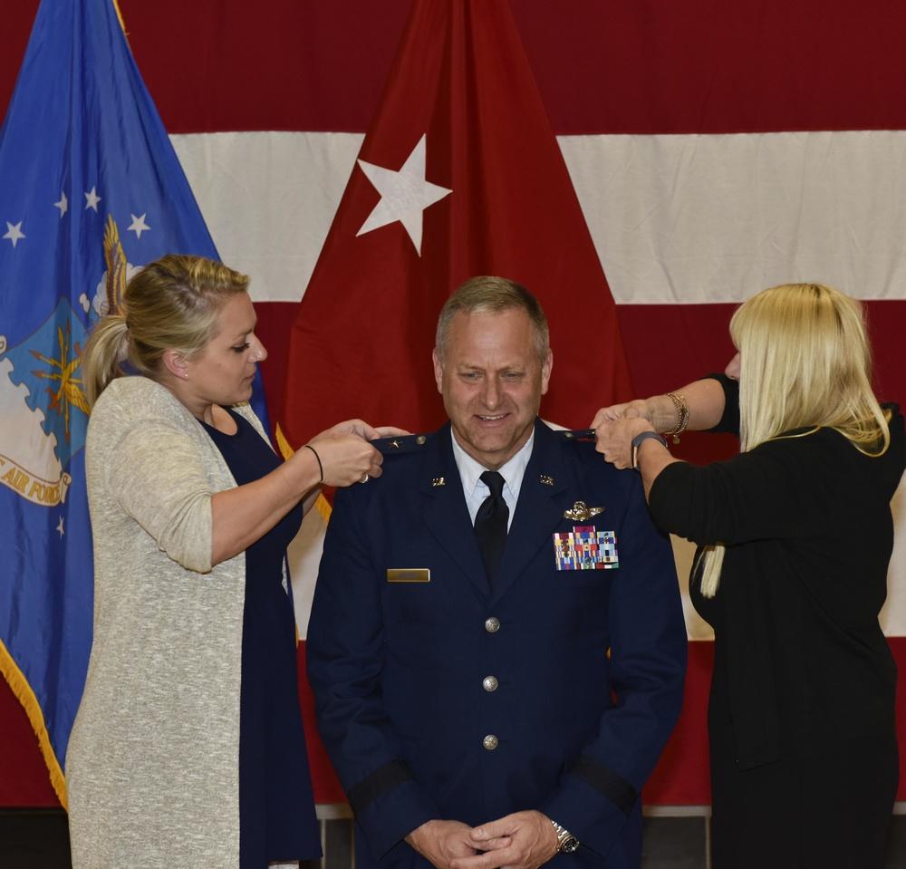 Major General Timothy LaBarge promoted