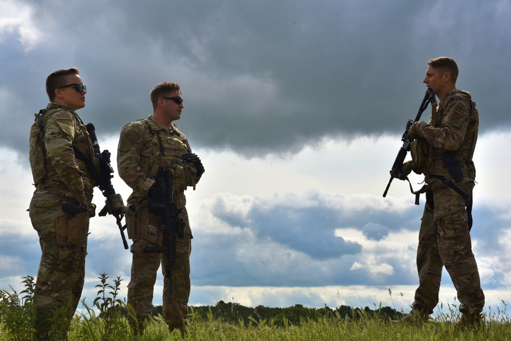 165th SFS conducts combat exercises