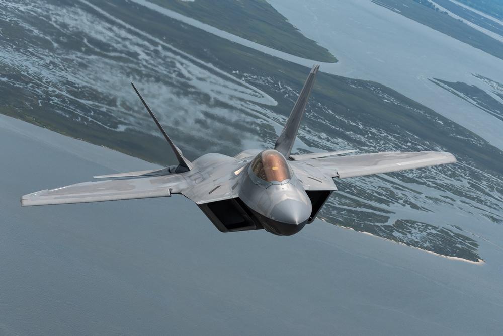 MCAS Beaufort: F-22 Demo Team