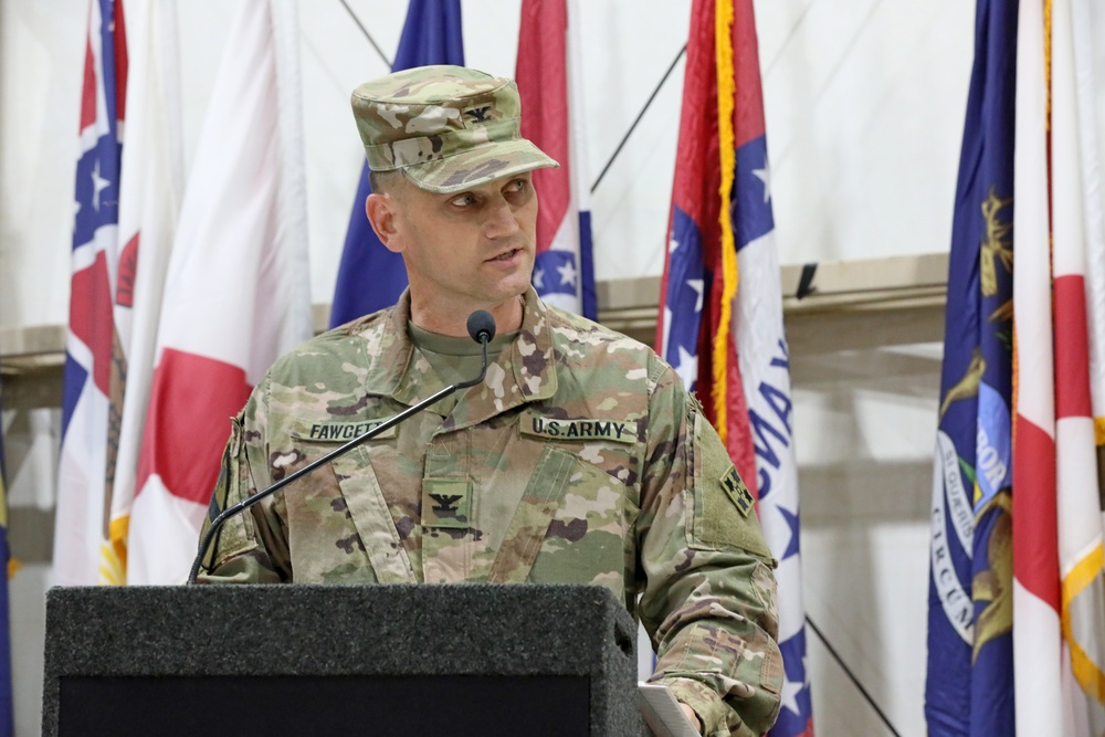 3rd Armored Brigade Combat Team, 4th Infantry Division Changes Command During Kuwait Rotation