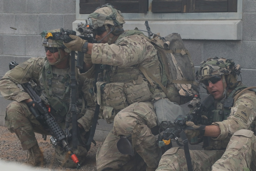 Soldiers Return Fire