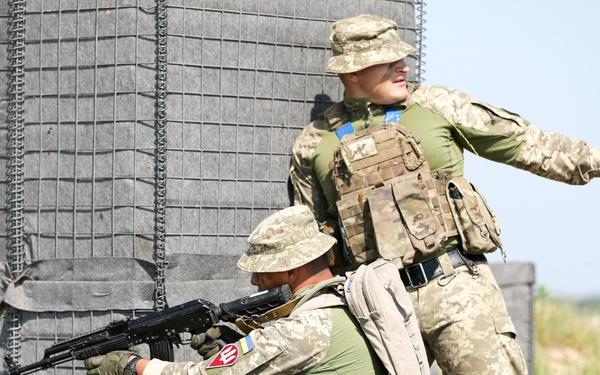 95th Air Assault Brigade Defensive Training