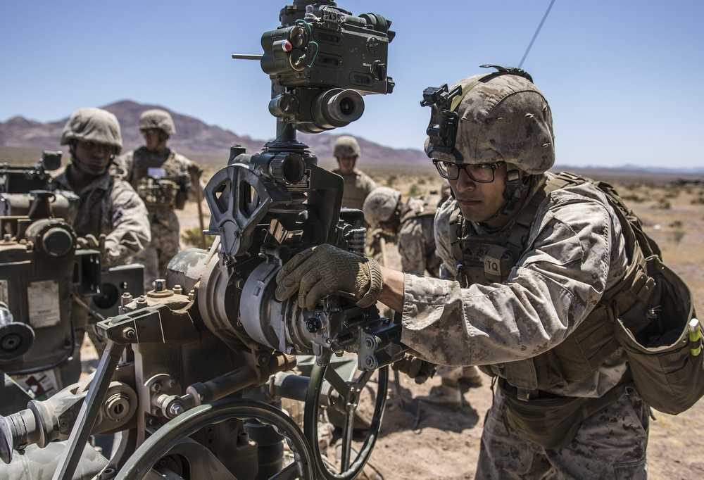 November Battery fires M777 howitzer during ITX 4-19