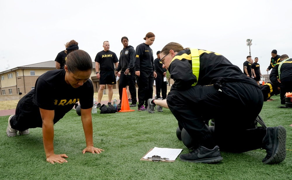 Soldiers get their arms around the ACFT with Fitness School trainers