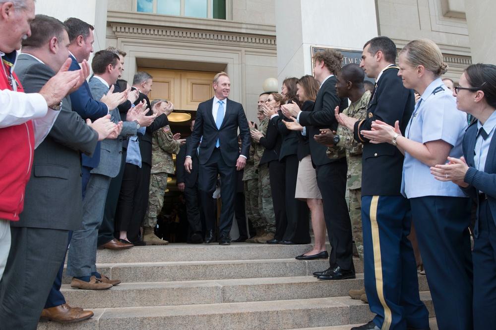 Acting Secretary of Defense Shanahan Departs Pentagon